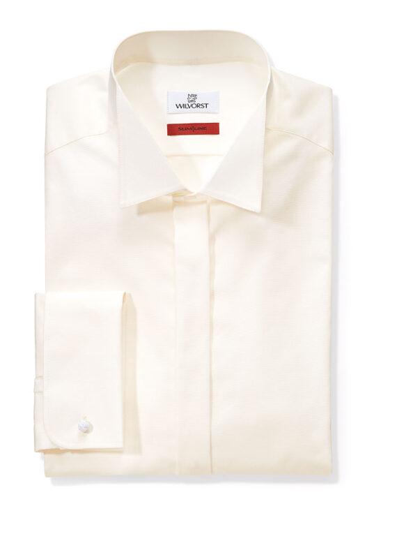 Cream Slimline Shirt