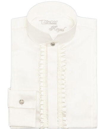 TZIACCO-Royal-frill-shirt
