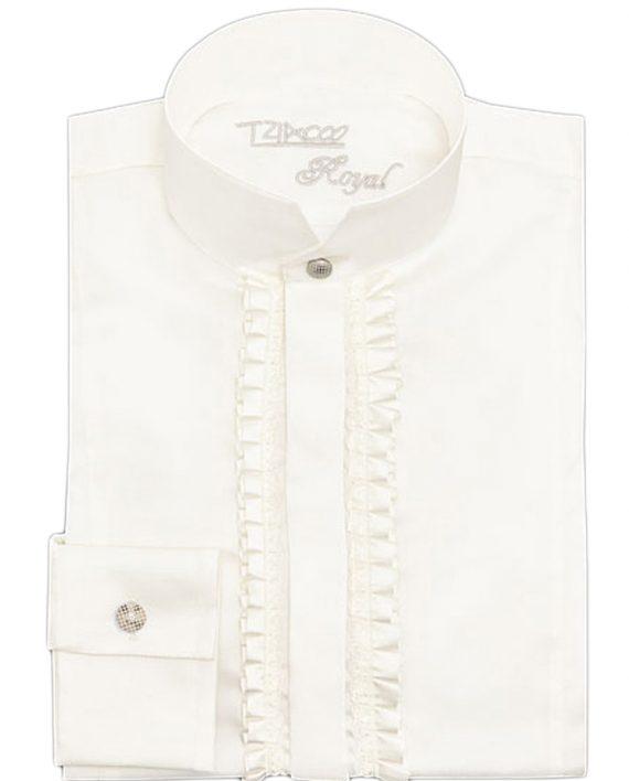 TZIACCO-Royal-frill-shirt