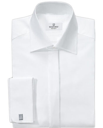 Wilvorst Body-fit White Shirt