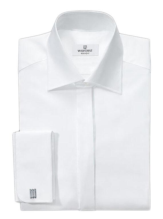 Wilvorst Body-fit White Shirt
