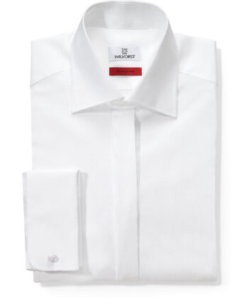 Wilvorst Slimline Cut-away Collar shirt