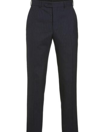 Navy Pinstripe 2 piece suit