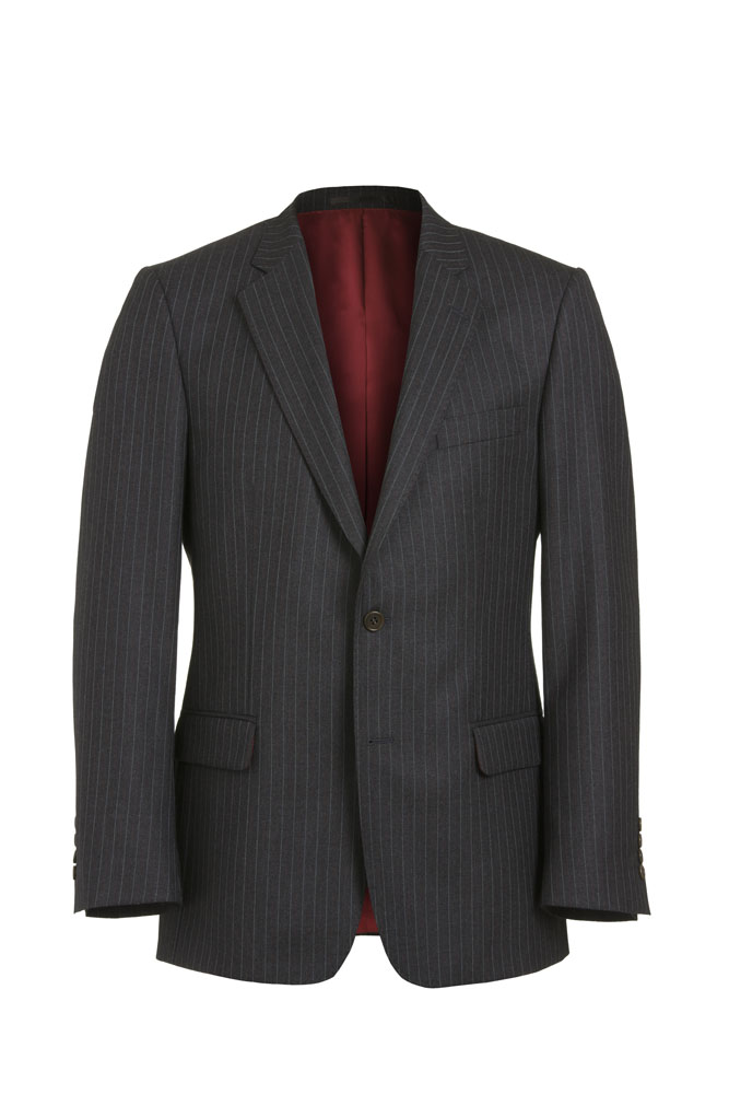 Grey Pinstripe 2 piece suit