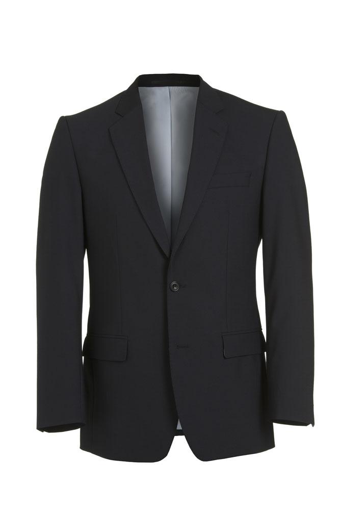 Navy Wool 2 piece suit