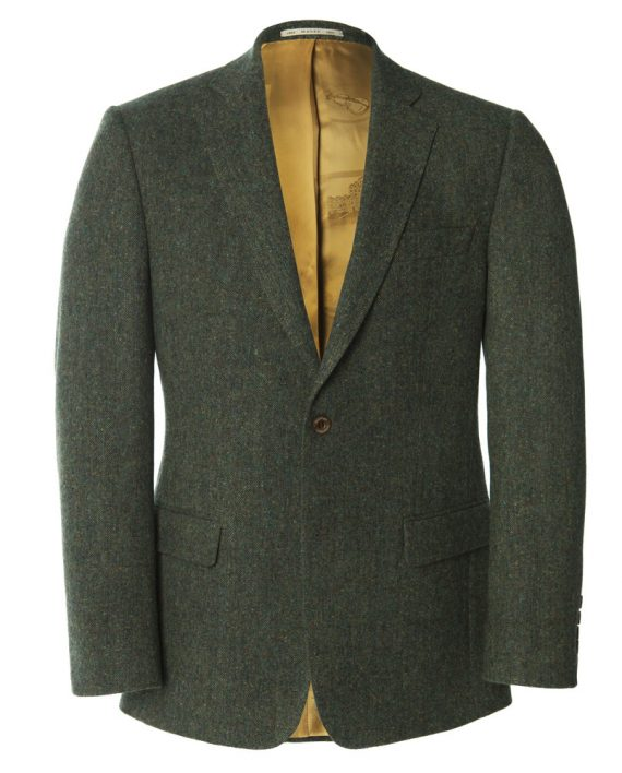Magee 1866, IrelandGreen Handwoven Tweed Jacket_O1V3360.CR2