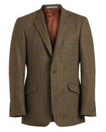Brown Tweed Lilac Check jacket 52075-tom-murphy-menswear