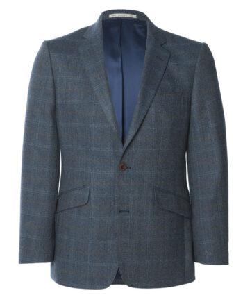 Blue Windowpane Check Tweed Jacket Tom-Murphy-Menswear Magee 1866, Ireland,_O1V3331.CR2