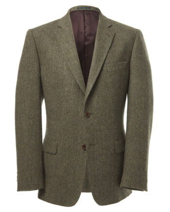 Green Pure Wool Herringbone Tom Murphy Menswear Magees 1866, Ireland_O1V1424.CR2