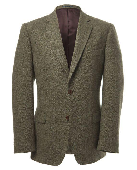 Green Pure Wool Herringbone Tom Murphy Menswear Magees 1866, Ireland_O1V1424.CR2