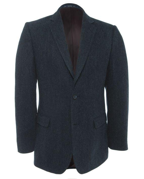Navy Tweed Jacket Tom Murphy Menswear Magee 1866, Ireland_O1V3032.CR2