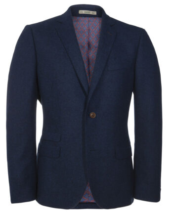 Blue Tweed 3 Piece Suit Tom Murphy Menswear