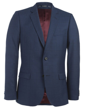 Blue Check 2 Piece Suit