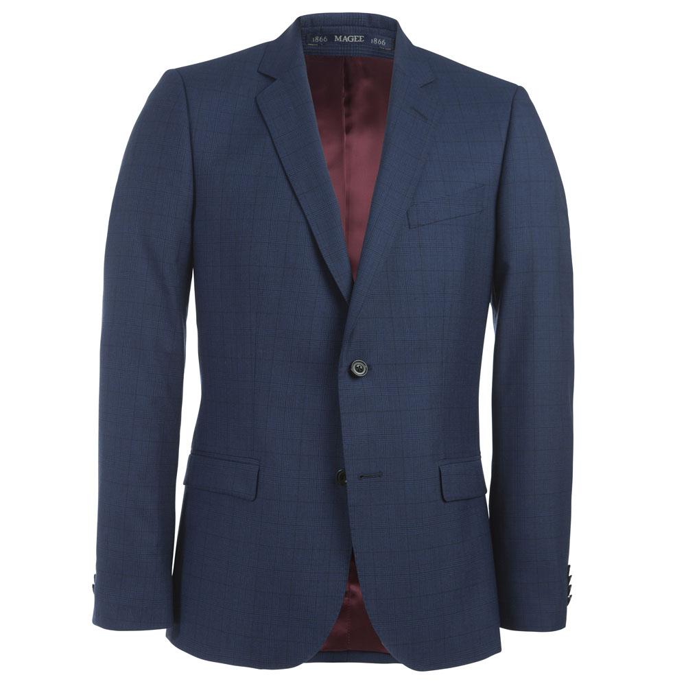 Blue Check 2 Piece Suit