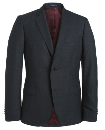 Charcoal Grey Check 2 Piece Suit