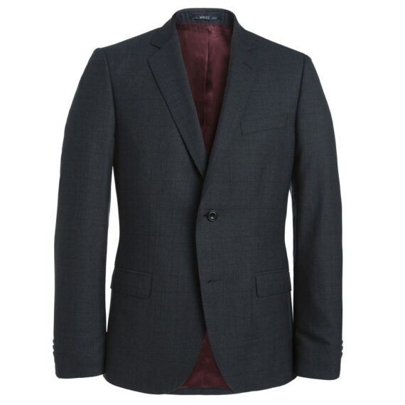 Charcoal Grey Check 2 Piece Suit