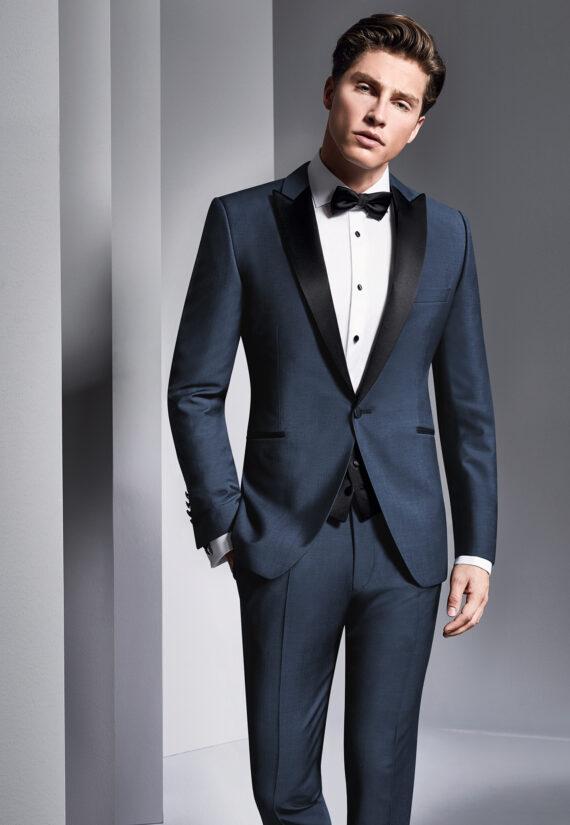 blue wedding suit tuxedo