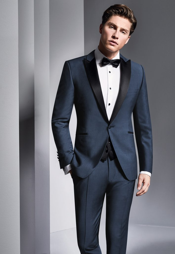 blue wedding suit tuxedo