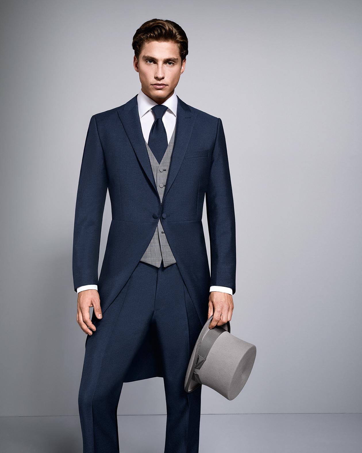 Blue evening tail outfit tom murphy 39 s formal and menswear - Hochzeitsanzug hugo boss ...