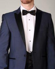 wilvorst blue tuxedo 3 piece
