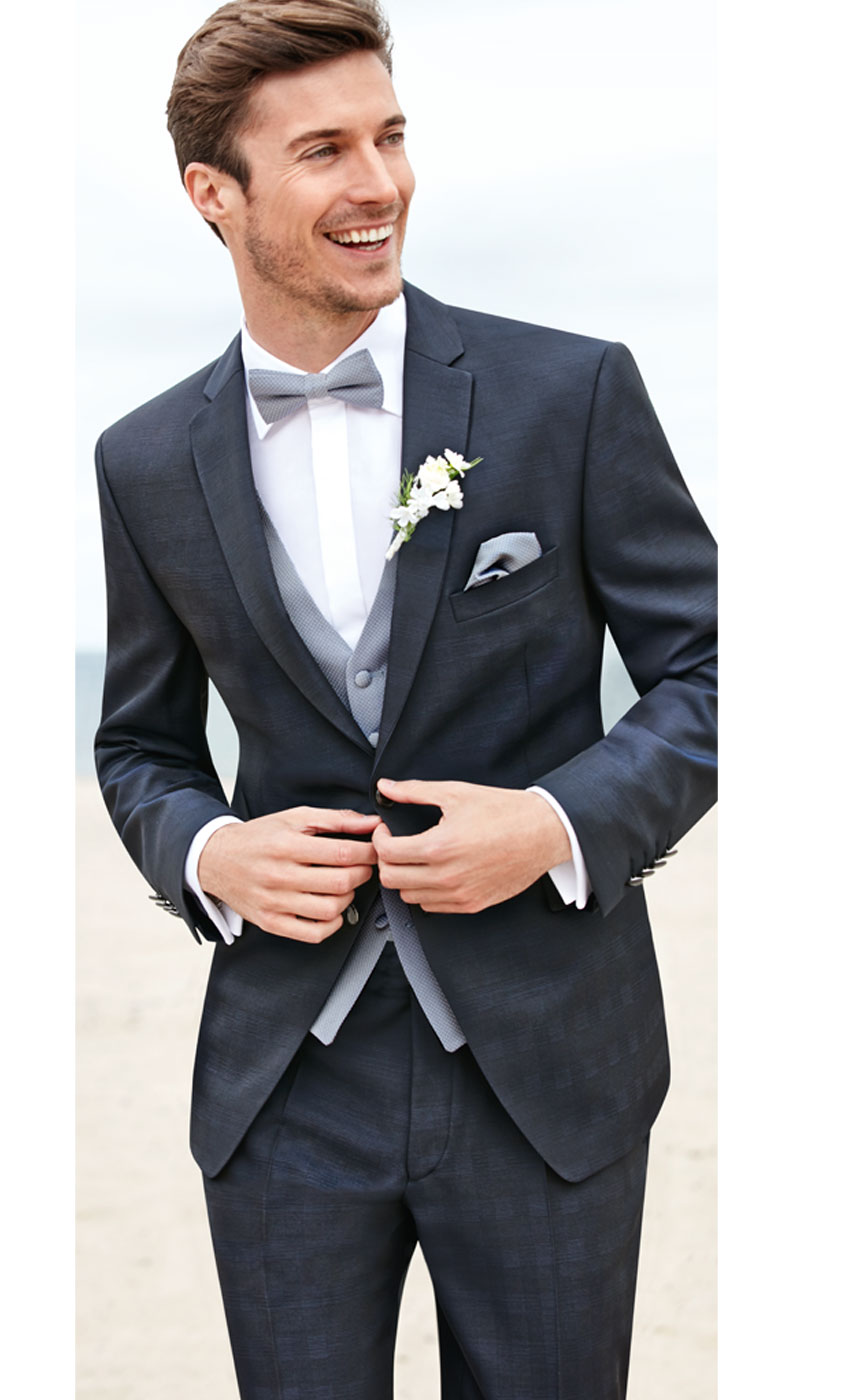 GALA Glencheck Wedding Suit - Tom Murphy's Formal and Menswear