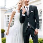 Black Eventstructure Wedding Suit