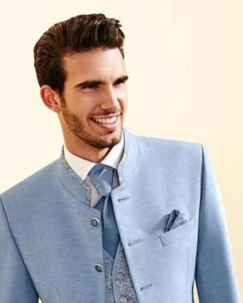 Landlord Bright Blue Suit