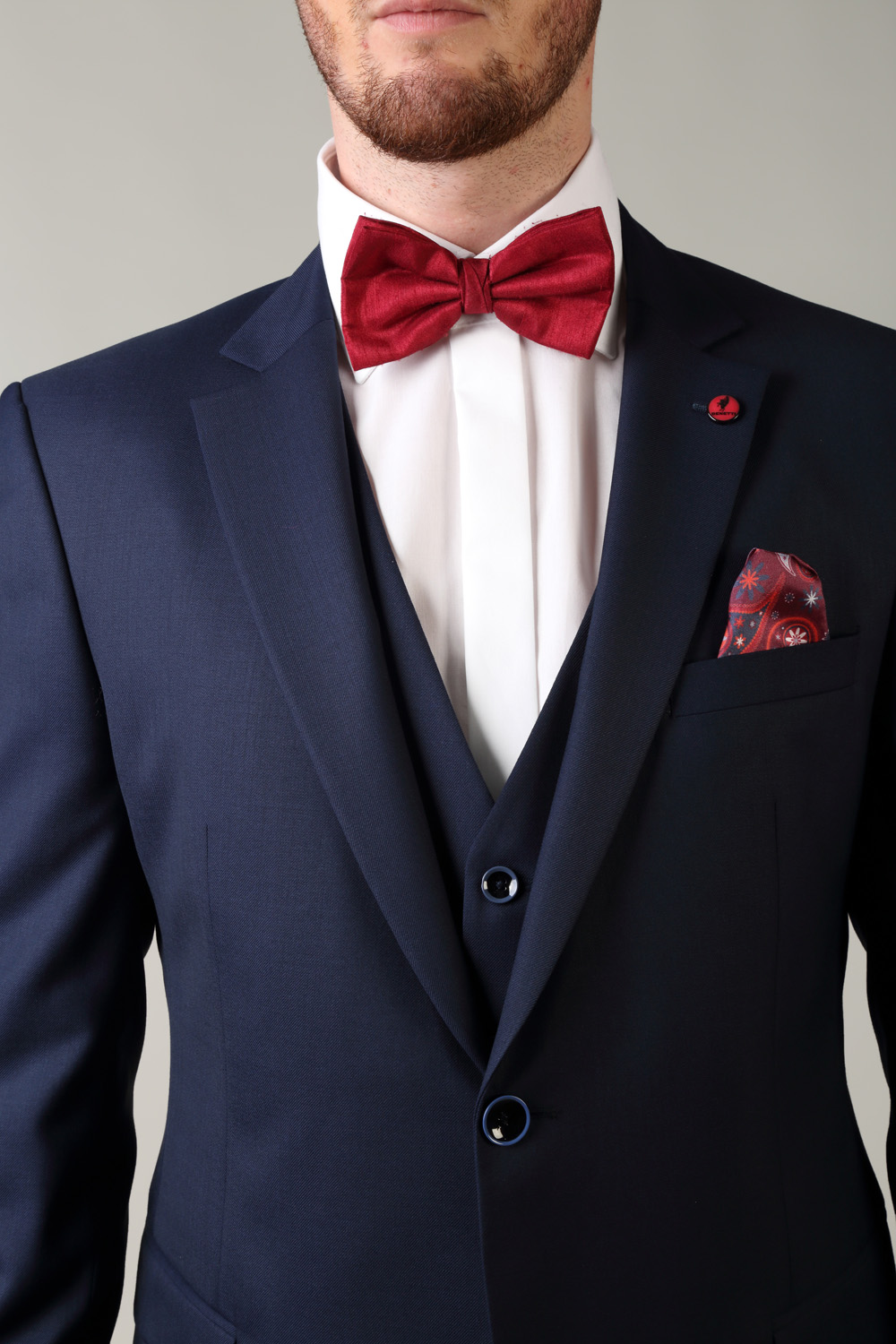 174a765219c4 Comfort Fit Navy Benetti 3 piece suit - Tom Murphy's Formal and Menswear
