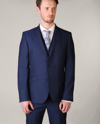 Royal Blue three piece suit
