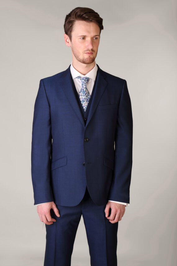 Royal Blue three piece suit