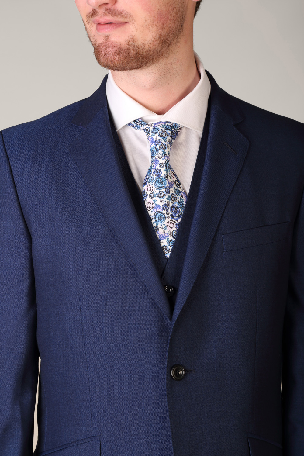021dde7ead48c9 Magee Dillon Royal Blue 3 Piece Suit - Tom Murphy's Formal and Menswear