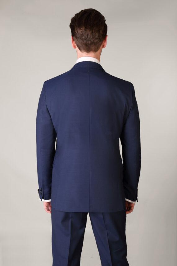 Benetti Micro Pattern Blue 3 piece suit