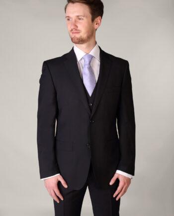Navy 3 Piece Classic Suit