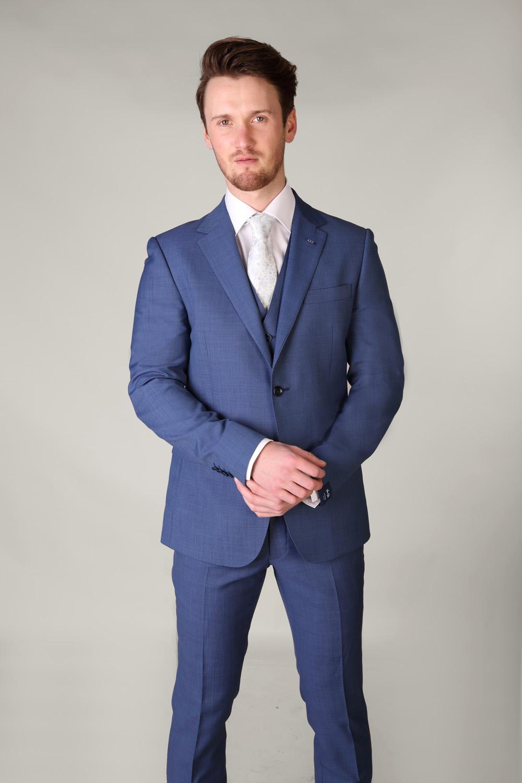 Van Gils Electric Blue 3 Piece Suit Tom Murphy S Formal