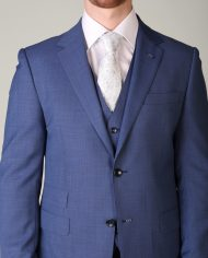 Van Gils Electric Blue 3 Piece Suit