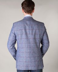 Magee Pink and Blue Check Jacket