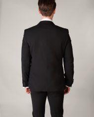 Peak Lapel Tuxedo with Trimmed Edge