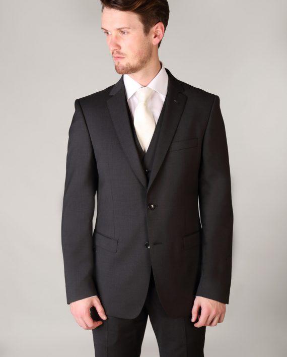 Van Gils Marzotto Grey 3 Piece Suit