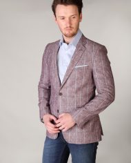Pink Magee Check Jacket