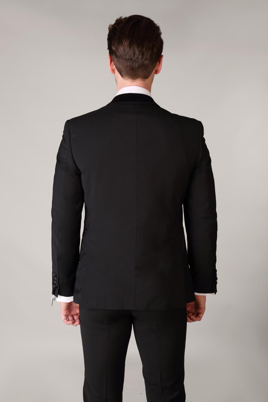 Shawl Collar Black Tuxedo Super Fine Wool Tom Murphy S