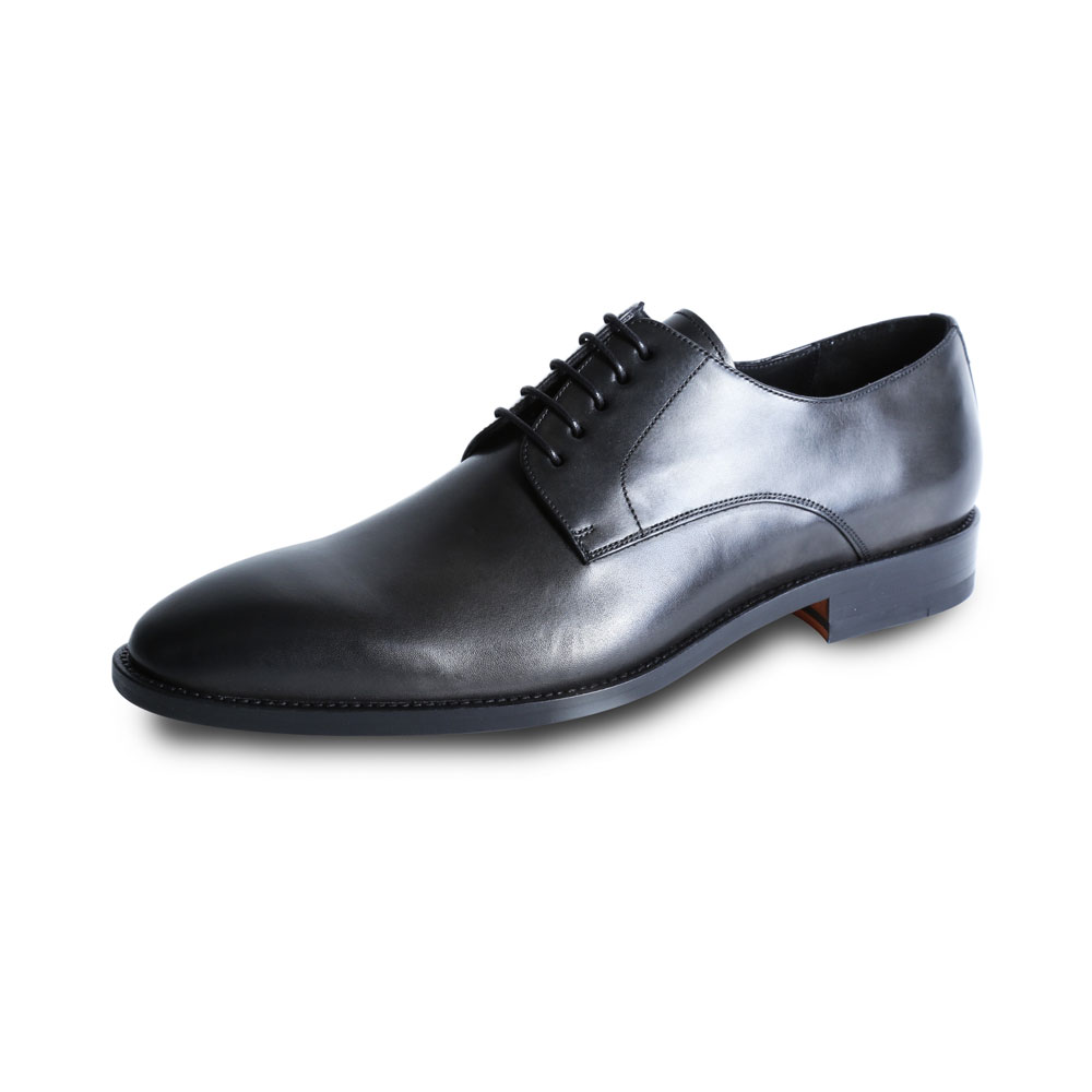 Black Lace Up Wilvorst Shoe