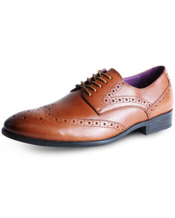 Burford Tan Shoe by Azor