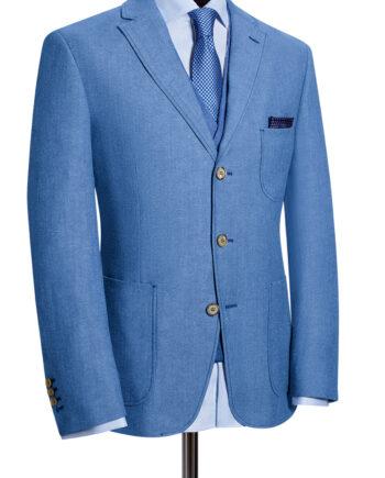 Pale Blue Tollegno Jacket CORPUSLINE_FS2017_S14_Sakko_TOLLEGNO_Art572720