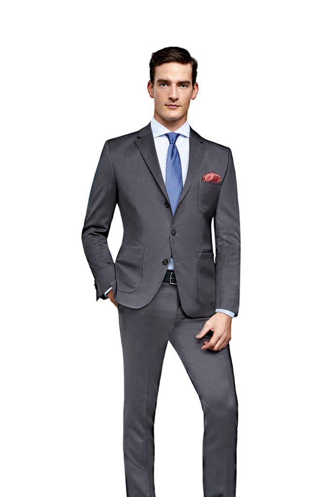 Charcoal Grey Cerruti 2 Piece Suit CORPUSLINE FS2017_S5 Anzug CERRUTI Art571801