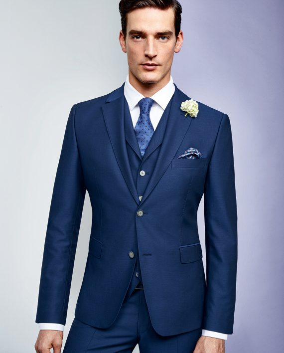 Naples Blue 3 Piece Suit CORPUSLINE FS2017 REDA Art561703