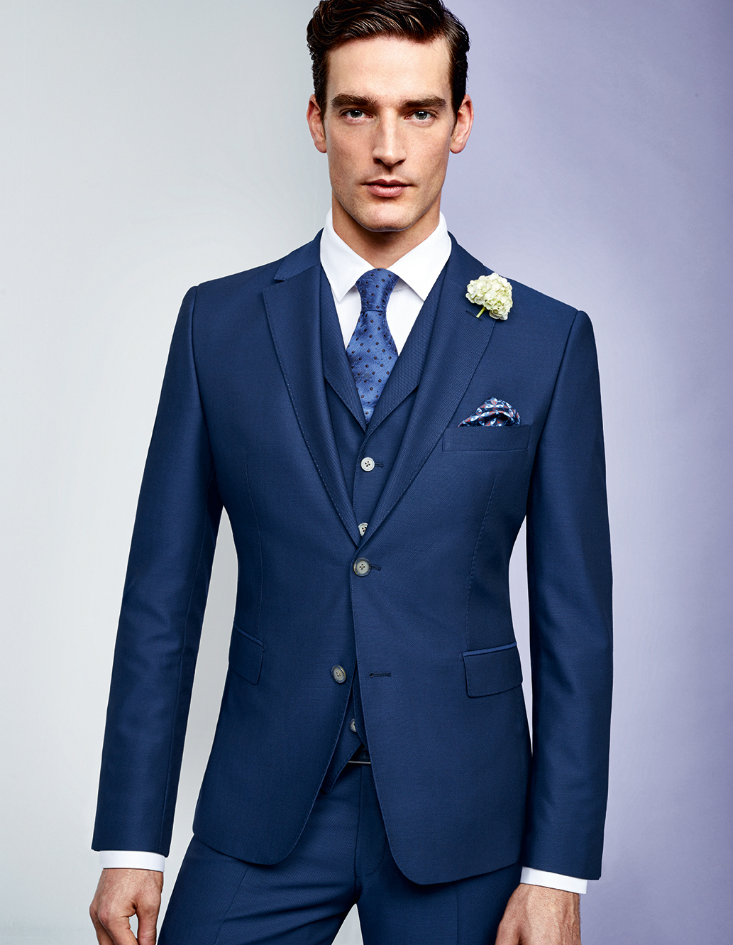 Naples Blue 3 Piece Suit Tom Murphy S Formal And Menswear