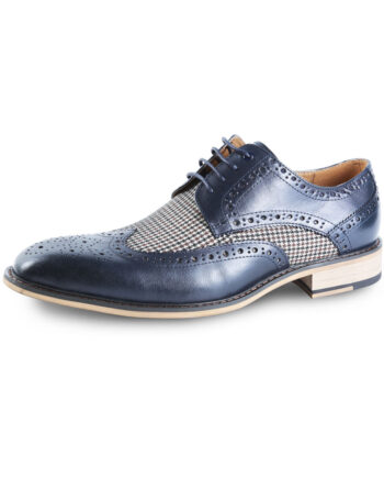 Gerard Brogue Black Shoe Justin Reece