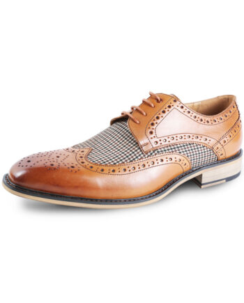 Gerard Brogue Brown Shoe Justin Reece