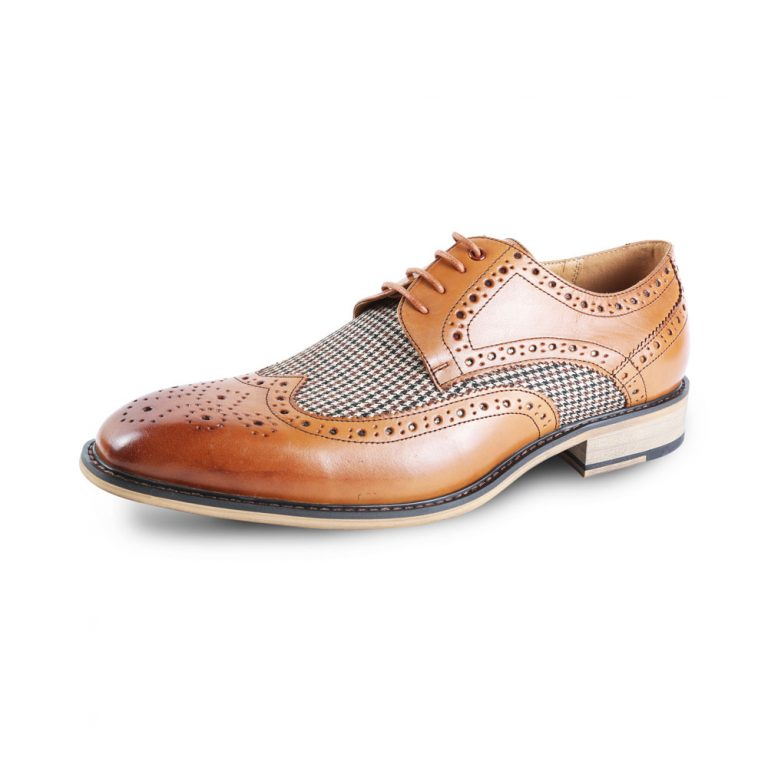 Gerard Brogue Brown Shoe Justin Reece