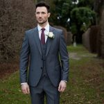 Hogan Grey 3 Piece Suit by Benetti
